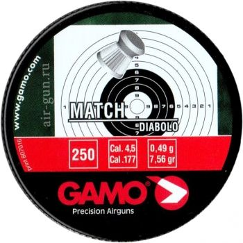 Пуля Gamo Match 4.5mm 250шт